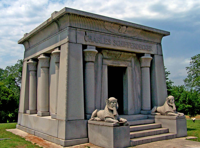 Charles Schifferdecker Mausoleum1